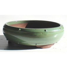 XY-105G - Green Glazed Drum Pot