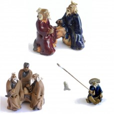 Assorted Figurines - Large Set 2 - Old men 15pcs