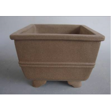 P-10 Semi Cascade unglazed bonsai pot - 22cm (2pcs)