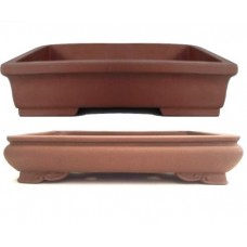Unglazed Rectangle Bonsai Pots 36/32cm (6pcs)