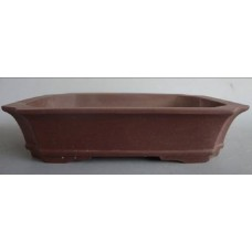 P-16 Rectangle unglazed pots 26cm