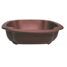 P-57 Floral shaped unglazed pot - 40cm (2pcs)