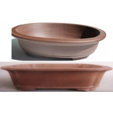 Unglazed Rectangle/Oval Pots 54cm & 40cm (4pcs)