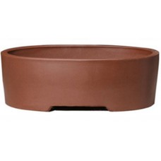 SL-217 Oval Unglazed Bonsai Pots - 2 sets of 3