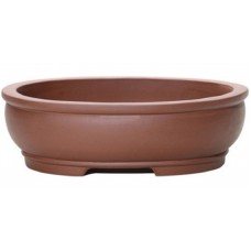 SL-220 Oval Unglazed Bonsai Pots - 2 sets of 3