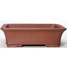SL-218 Rectangle Unglazed Bonsai Pots - 2 sets of 3