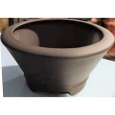 SD-17 - Unglazed Semi Cascade bonsai pots - 14cm (5pcs)