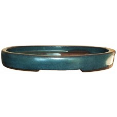 XY-130L Small Oval Bonsai Trays - Light Blue Set of 2